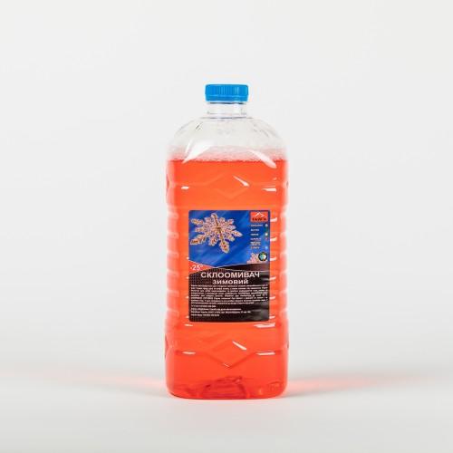 Winter screenwash  -25 ℃  Strawberry Caramel ТАЙГА 3l